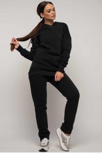 Костюм «Рокси-Зима» черного цвета