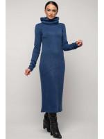Платье «Арктика» сапфирового цвета