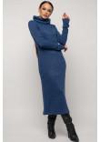 Сукня «Арктика» сапфірового кольору