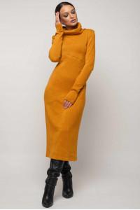 Сукня «Арктика» гірчичного кольору