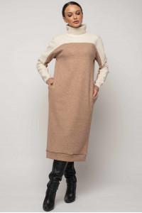 Платье «Эрин-Микс» бежевого цвета