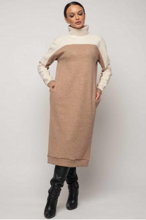Сукня «Ерін-Мікс» бежевого кольору
