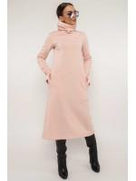 Платье «Монти» цвета пудры