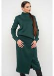 Спідниця «Лорена-в'язка» зеленого кольору