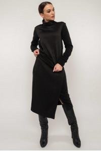 Костюм «Лорена-стьобанка» чорного кольору
