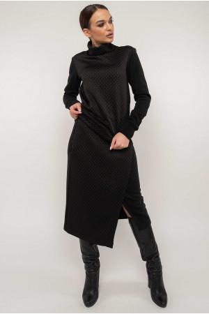 Костюм «Лорена-стеганка» черного цвета