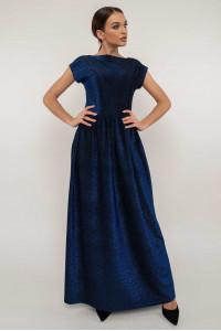Платье «Мирелла» темно-синего цвета