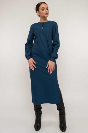 Платье «Фабиан» синего цвета