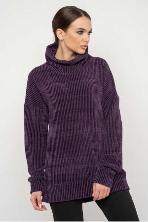 Свитер «Норди» фиолетового цвета