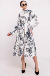 Платье «Рут» белого цвета