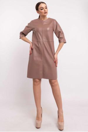 Платье «Мэдисон» цвета капучино