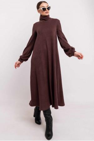 Платье «Джейзи» цвета мокко