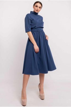 Платье «Стелла» цвета джинс