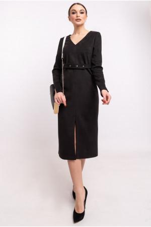 Платье «Линнея» черного цвета