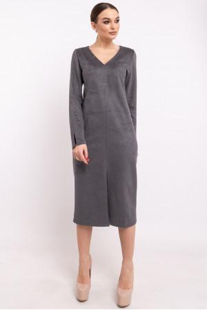 Платье «Линнея» серого цвета
