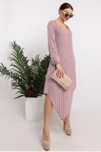 Платье «Камалия» лилового цвета
