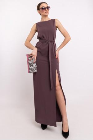Платье «Линдси» сливового цвета