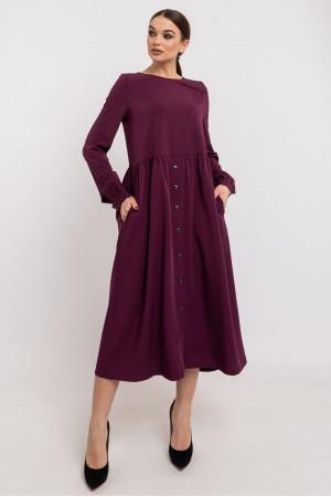 Платье «Тэмми» фиолетового цвета