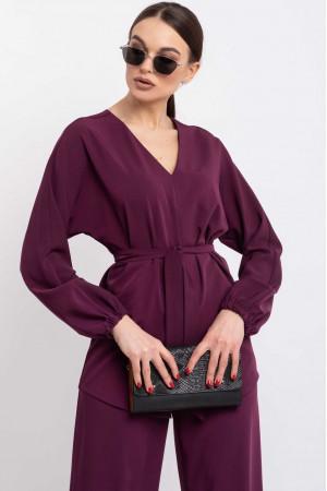 Блуза «Шер» фіолетового кольору