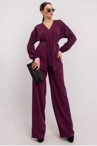 Блуза «Шер» фиолетового цвета