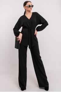 Блуза «Шер» чорного кольору