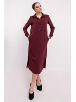 Сукня «Тенді» кольору бордо