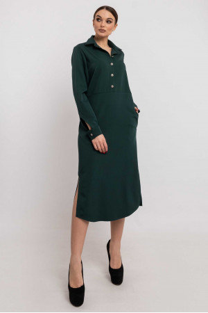 Платье «Тенди» зеленого цвета