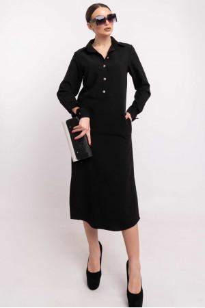 Платье «Тенди» черного цвета