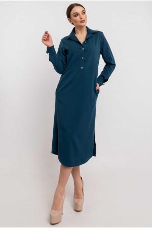 Платье «Тенди» синего цвета