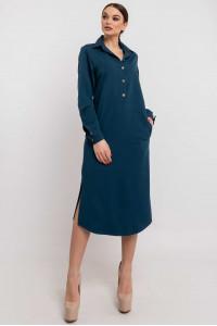 Сукня «Тенді» синього кольору