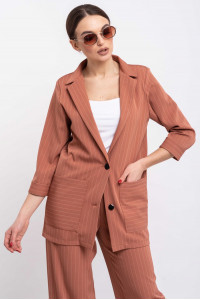 Пиджак «Криспи» терракотового цвета