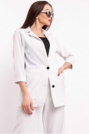 Пиджак «Криспи» белого цвета