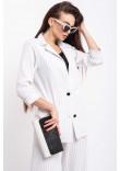 Піджак «Кріспі» білого кольору