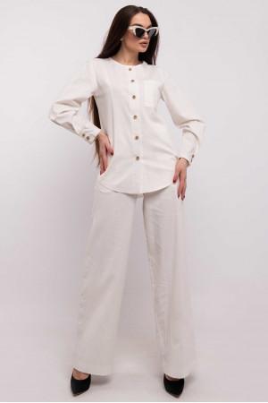 Блуза «Леоніла» молочного кольору