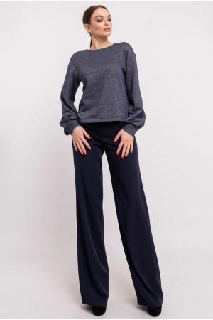 Свитшот «Грей» цвета джинс