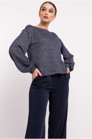 Світшот «Грей» кольору джинс