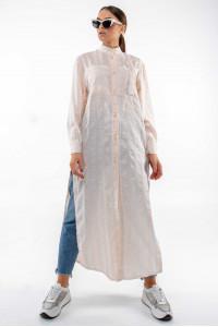 Рубашка «Шерити» бежевого цвета