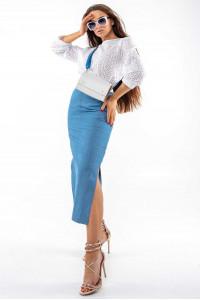 Спідниця «Дербі» блакитного кольору