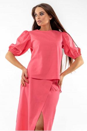 Блуза «Барлі» коралового кольору