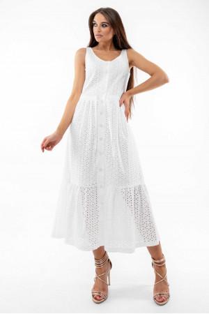 Сарафан «Маріса» білого кольору