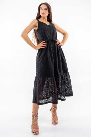 Сарафан «Мариса» черного цвета