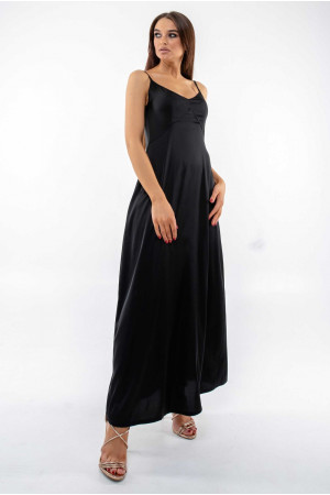 Сарафан «Арлони» черного цвета