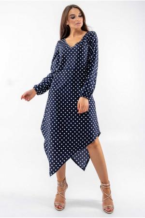 Платье «Камалия» темно-синего цвета