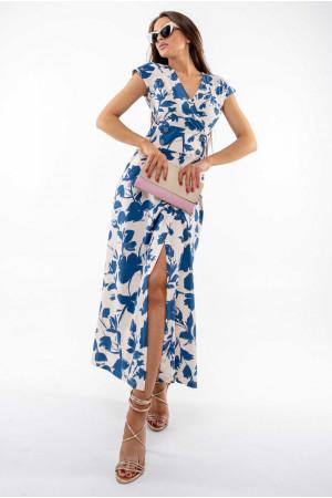 Платье «Пэйтон» молочного цвета