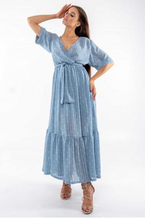 Платье «Барбара» голубого цвета