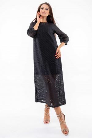 Платье «Стефани» черного цвета