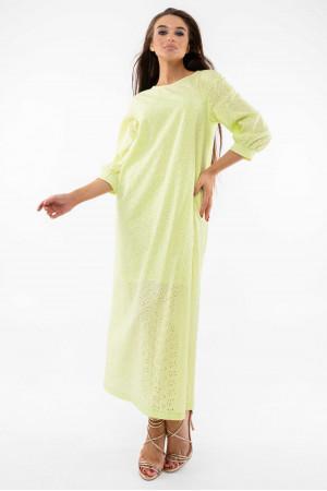 Платье «Стефани» цвета лайм