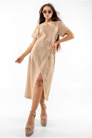 Платье «Джейд» бежевого цвета