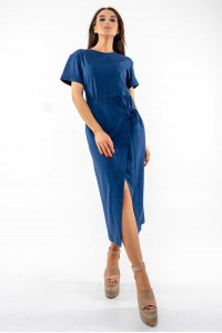 Платье «Джейд» темно-синего цвета