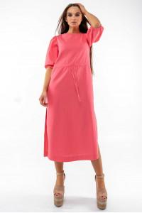 Платье «Глоу» кораллового цвета